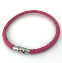 Brighton Coachella Pink Leather Bracelet, Size M, New - $28.49