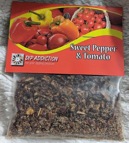 Dip Addiction Sweet Pepper And Tomato Mix 100 Percent Natural Ingredients