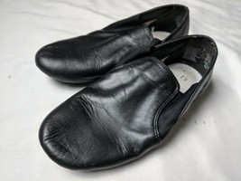 American Ballet Theater Spotlights Kids Dance Shoes Size 1.5 Black Leather Youth - $11.13