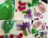 Barbie Doll Junk Drawer Lot Boots Purse Brush Comb Lot SKU 047-07