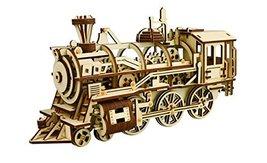 DIY 3D Wooden Puzzle Laser-Cut Mechanical Wind-Up Puzzle Model Kit, Premium Qual image 6