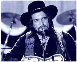 WAYLON JENNINGS Authentic  AUTOGRAPHED SIGNED 8x10 Photo w/COA 1065 - $125.00