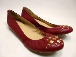 J.Crew Cece Pyramid Studded Toe Ballet Flats Womens Slip-On Size 8.5 Sho... - $43.00
