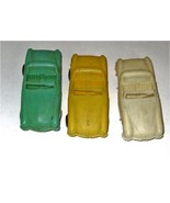 CARS - Vintage 1950's Plastic Cars Lot of 3 - $2.75
