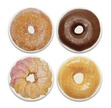 Donut Coasters New Set of 4 CoasterStone Absorbing Cork Backing Doughnut  - $24.74