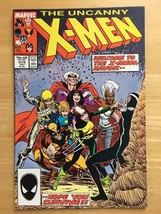 Uncanny X-Men 219 VF+ Condition 1987 Marvel Comic Book HAVOK Joins X-Men - $2.69