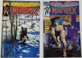 GI) Lot of 2 Marvel Weapon X Comic Books - $9.89
