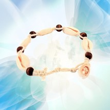 Shell Beads Hawaiien Style Foot Jewelry Chain Anklet Woven Anklet for Be... - £12.97 GBP
