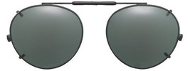 Visionaries Polarized Clip on Sunglasses - Round - Bronze Frame - 49 x 4... - $37.40+