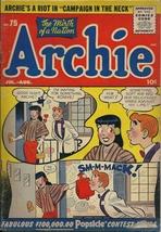 Archie #75 - Good - Archie Comics - Jul-Aug 1955 - $9.50
