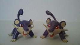 2x 1st Edition Pokemon Ratata TOMY Figure *U.S SELLER* - $8.99