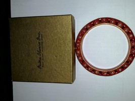 Vintage Red Bangle Made in India from India House Inc San Juan Puerto Rico - $49.99