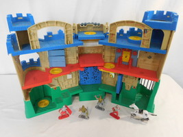 Fisher Price Imaginext Adventures Castle Playset + Figures + Horse Rare ... - $48.02
