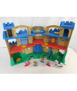 Fisher Price Imaginext Adventures Castle Playset + Figures + Horse Rare ... - $48.02