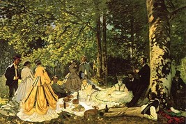 Luncheon on the Grass by Claude Monet - Art Print - $19.99+