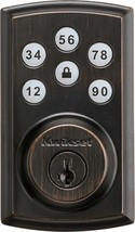Kwikset SmartCode 888 Deadbolt Smart Lock Bronze 98880-003  NO ZWAVE - $88.49