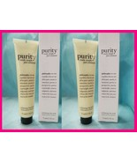 2 PHILOSOPHY PURITY Made Simple PORE EXTRACTOR Exfoliating Clay Mask 2.5... - $19.79