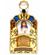 SACRED HEART OF JESUS Catholic Home Blessing Decor Religious Wall Hangin... - $13.93