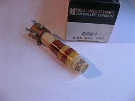 Miller 6061 Coil Tunable Transformer Oscillator 3.58MHz Color TV - NOS Q... - $10.44