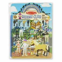 Melissa & Doug Puffy Sticker Activity Book - Riding Club UPC#0772094108 - $10.88
