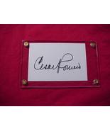 CESAR ROMERO  Autographed Signed Signature Cut w/COA - 30715 - $48.00