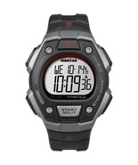 Timex Ironman Classic 50-Lap Full-Size Watch - Silver/Red - $65.37