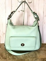 Coach Leather Legacy Courtenay Shoulder Bag Crossbody 22381 Mint color - $88.11
