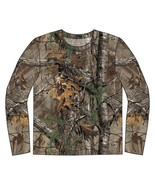 RealTree Xtra Men's Long Sleeve Cotton Camouflage Hunting T-Shirt - $17.99