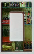 Coke Coca-Cola Mini Old Light Switch Outlet wall Cover Plate Home Decor image 3