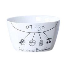 Kylin Express 2 Pieces Creative Ceramic Fruit Tableware Bowl for breakfa... - $28.71