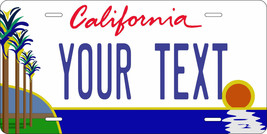 California Palm License Plate Personalized Custom Auto Bike Motorcycle M... - $10.99+