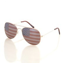 Shaderz USA America Aviator Sunglasses - Great Accesory for 4th of July ... - $19.63