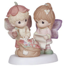 Christmas Memories Are Made With Love Precious Moments Figurine Fairy To... - $50.48