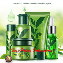 ROREC Green Tea Moisturizing Set Cleansing Foam Cream Essence Milk Lotio... - $18.95