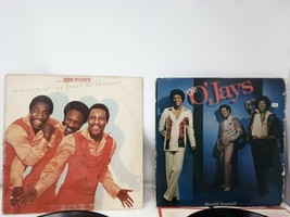 The O'Jays Travelin at the speed of thought & Identify Yourself Vinyl re... - $11.88