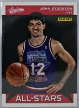 2012-13 JOHN STOCKTON Panini Absolute All Star Insert Card  - $5.00