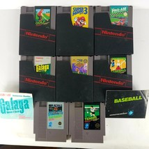Lot of Eight original Nintendo Games most with cases untested  - $50.00