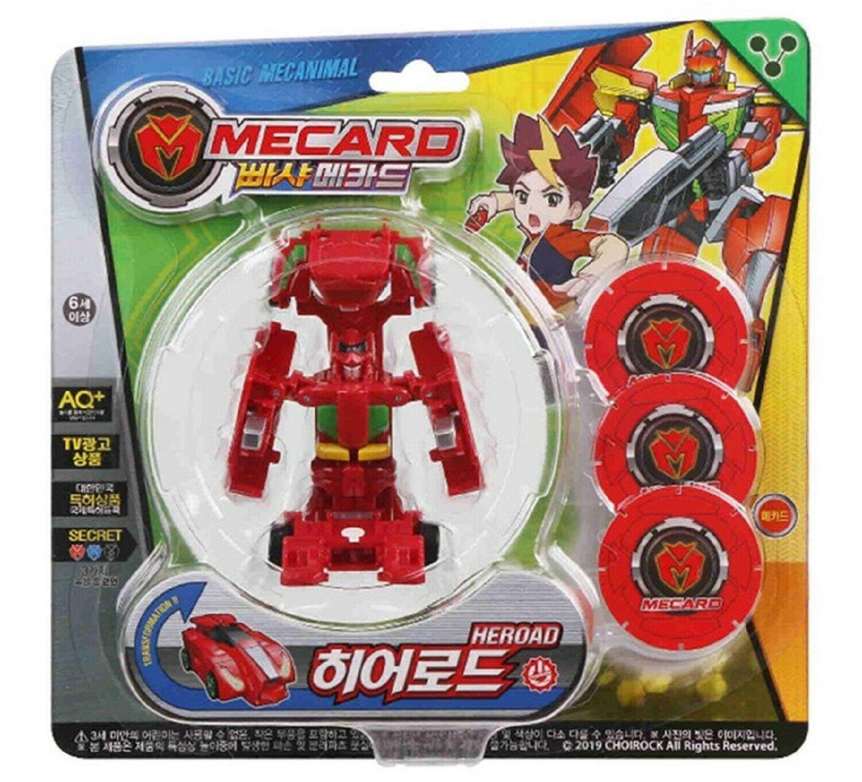 Pasha Mecard Heroad Mecardimal Turning Car Transformation Transforming Toy