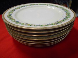 """Beautiful Collectible FUJI China OCCUPIED JAPAN """"Orchard""""- 8 DINNER Plates - $66.93"""