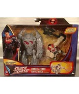 Superman Robot Attack Battle Pack-GREY - $14.69