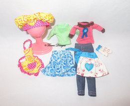 New Retired Moxie Doll Bakers Outfit and Baking Accessories - Gift Play or OOAK - $14.99
