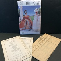 Vogue Craft Fashion Doll Sewing Pattern 9867 645 Historical Clothes 11.5... - $14.27