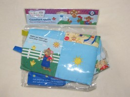Disney Baby Einstein Comfort Quilt Security Blanket Tags Sun Star Story Photo-Q - $39.54