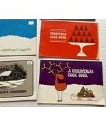 Wisconsin Public Service Christmas Cookbooks Lot Cook Book Vintage - $14.84