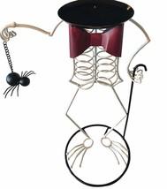 Halloween Decoration Skeleton Man Candle Holder - $18.81