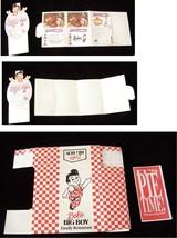 Big Boy Pie Box & Table Display Lot 1990s - $19.99