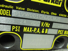 Parker D1VW001CNJDLMJ5-82 Directional Valve New image 2