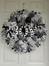 xmas wreaths,christmas wreaths,holiday wreaths,winter wreaths,black and ... - $55.00