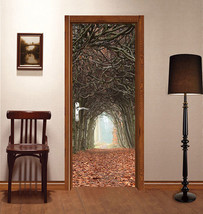 3D Blätter, Wald Door Wall Mural Photo Wall Sticker Decal Wall Aj Wallpaper De - $73.11+