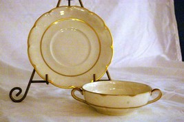 Theodore Haviland Concorde Cream Soup Cup And Saucer - $20.09